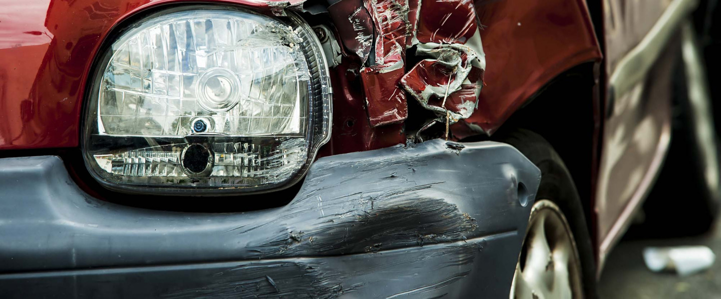 Were you recently in a car accident?